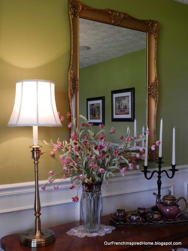 Our French Inspired Home Ralph Lauren Lamps At Homegoods