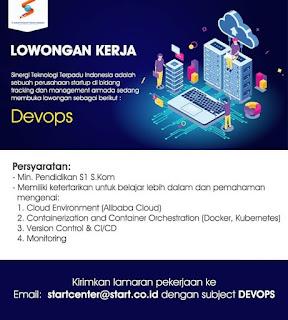 Devops di PT Sinergi Teknologi Terpadu Indonesia