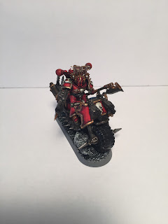 Khorne biker conversion