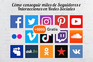 Cómo conseguir cientos de seguidores e interacciones en las redes sociales