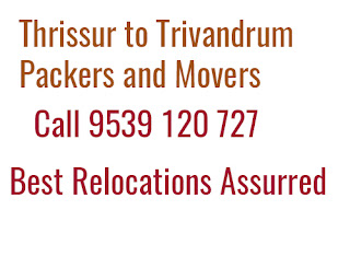 Thrissur to Trivandrum Packers Movers