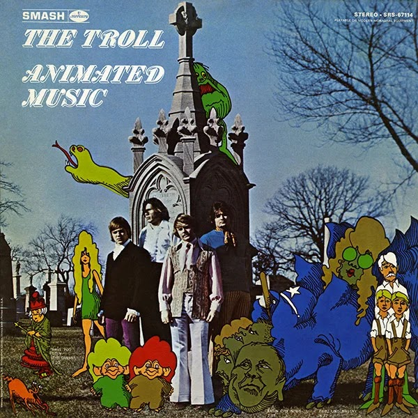 The Troll - Animated Music (1968, Rock Psicodélico, Rock de Garagem)