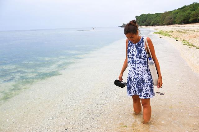 Beach in Bali in Uluwatu