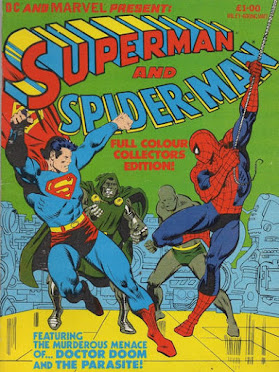 Superman and Spider-Man Collector's Edition, 1981, Marvel UK