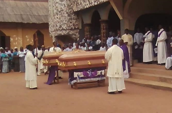 How A Catholic Seminarian Slaughtered By Fulani Herdsmen In Enugu & His Father Buried Same Day (Photos)