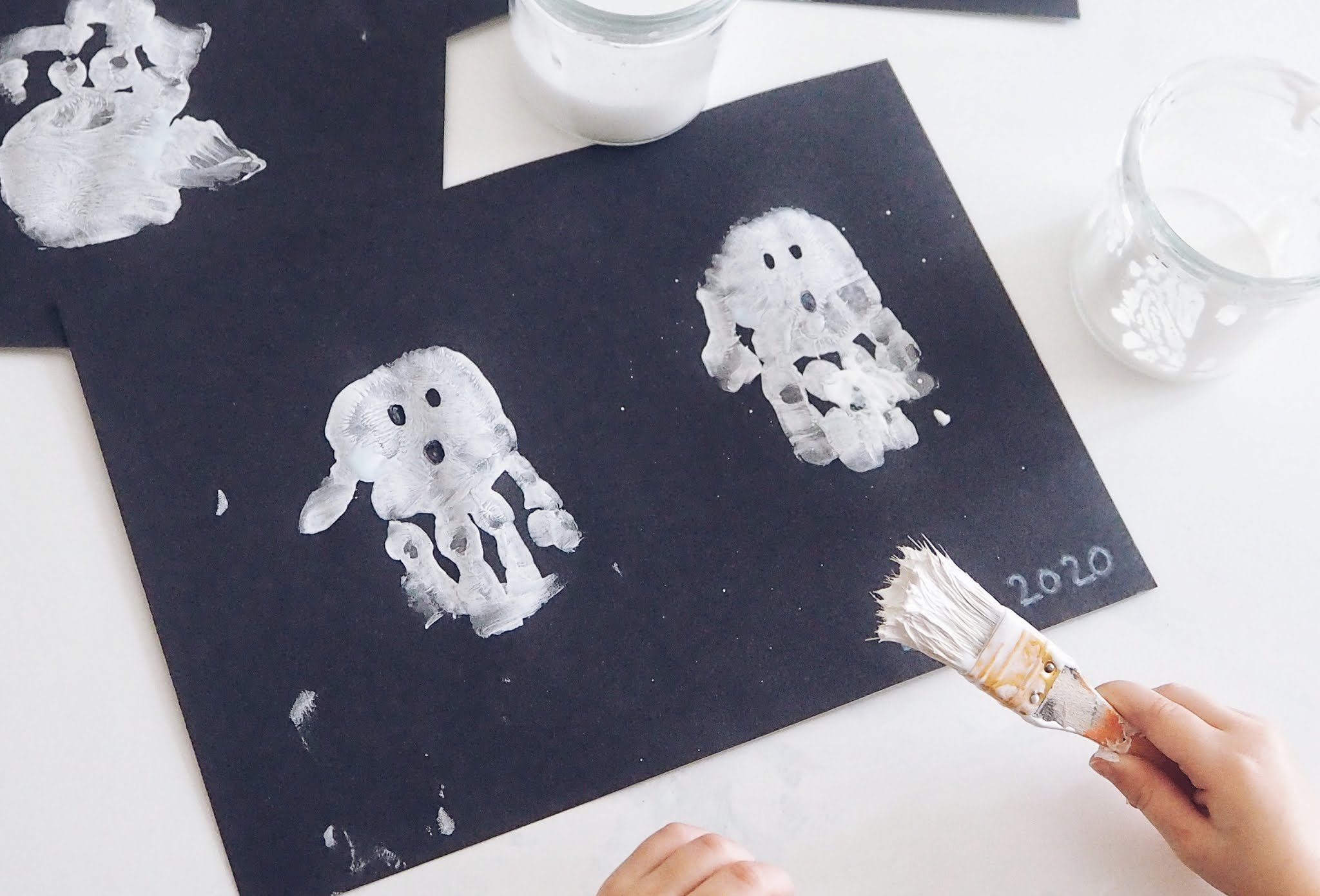 Hand Print Ghosts