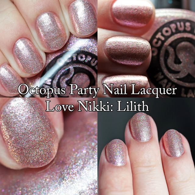 Octopus Party Nail Lacquer Love Nikki: Lilith