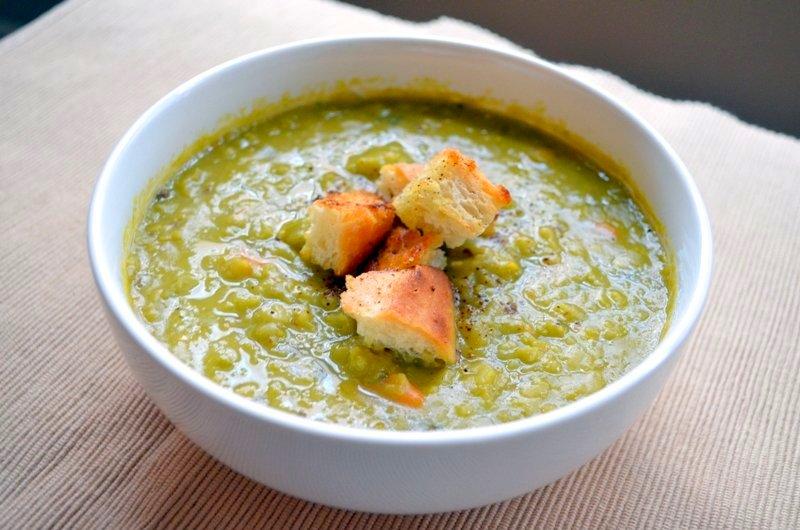Split Pea Soup | The Inventive Vegetarian