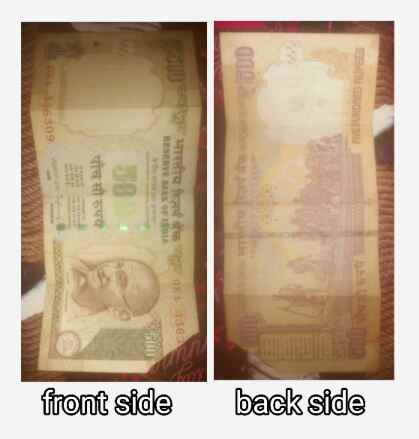 Old 5 hundred rupees. Old 500 rupees. inr ka pura naam kya hai.