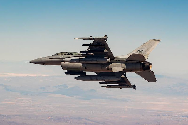 Korean F16 upgrade testing Edwards