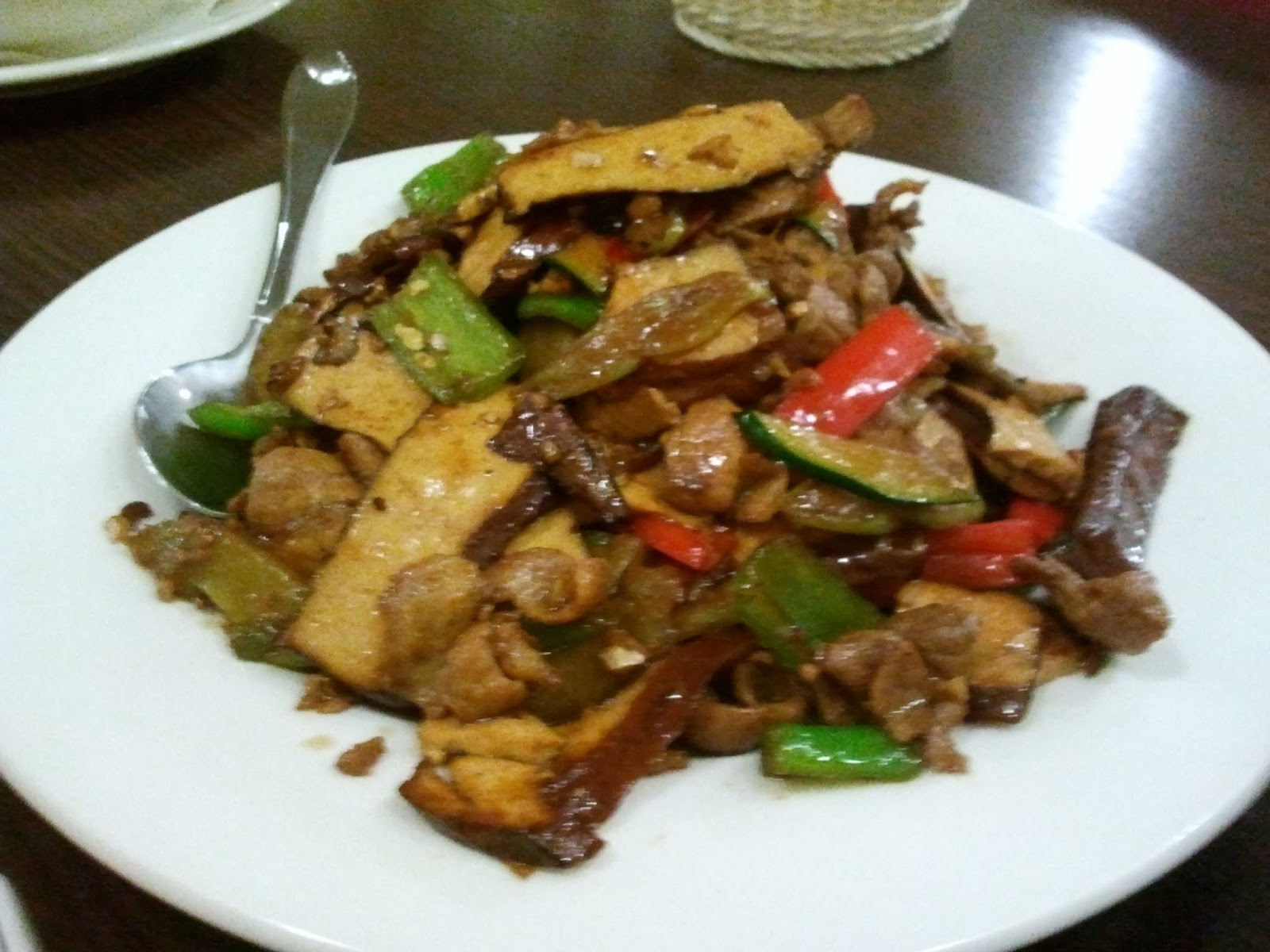 Craving for Food in Germany: Extremely Spicy Hunan Food at
