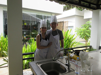 Cooking class at Suorkear Boutique Hotel and Spa in Siem Reap, Cambodia