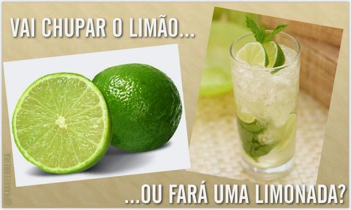 """Portal Pensando Bem: """"Se A Vida Te Der Limões, Faça Deles"""