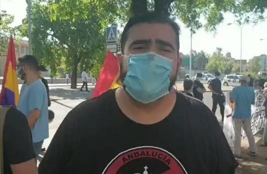 Oscar Reina (SAT)  absuelto de un delito de injurias contra Albert Rivera