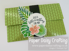 Tropical Chic Stampin Up Money Wallet