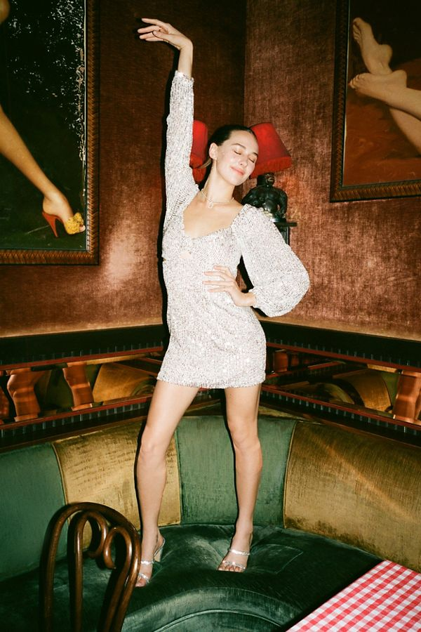 Urban Outfitters Glitter Party Dress