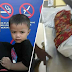 Budak 3 tahun maut didera bapa tiri