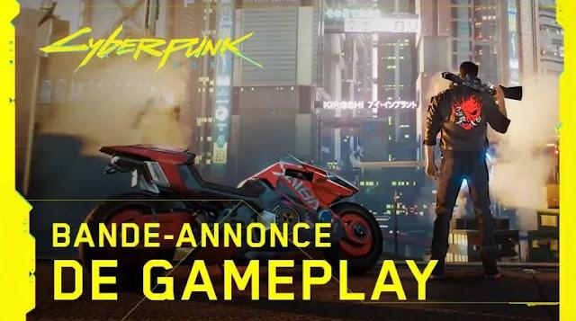 Bande annonce Gameplay de Cyberpunk 2077 !
