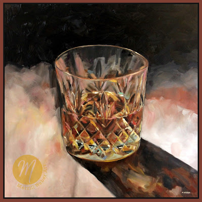 scotch-glass-cocktail-oil-painting-merrill-weber