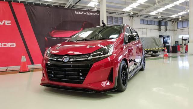 Spesifikasi Daihatsu Ayla Turbo