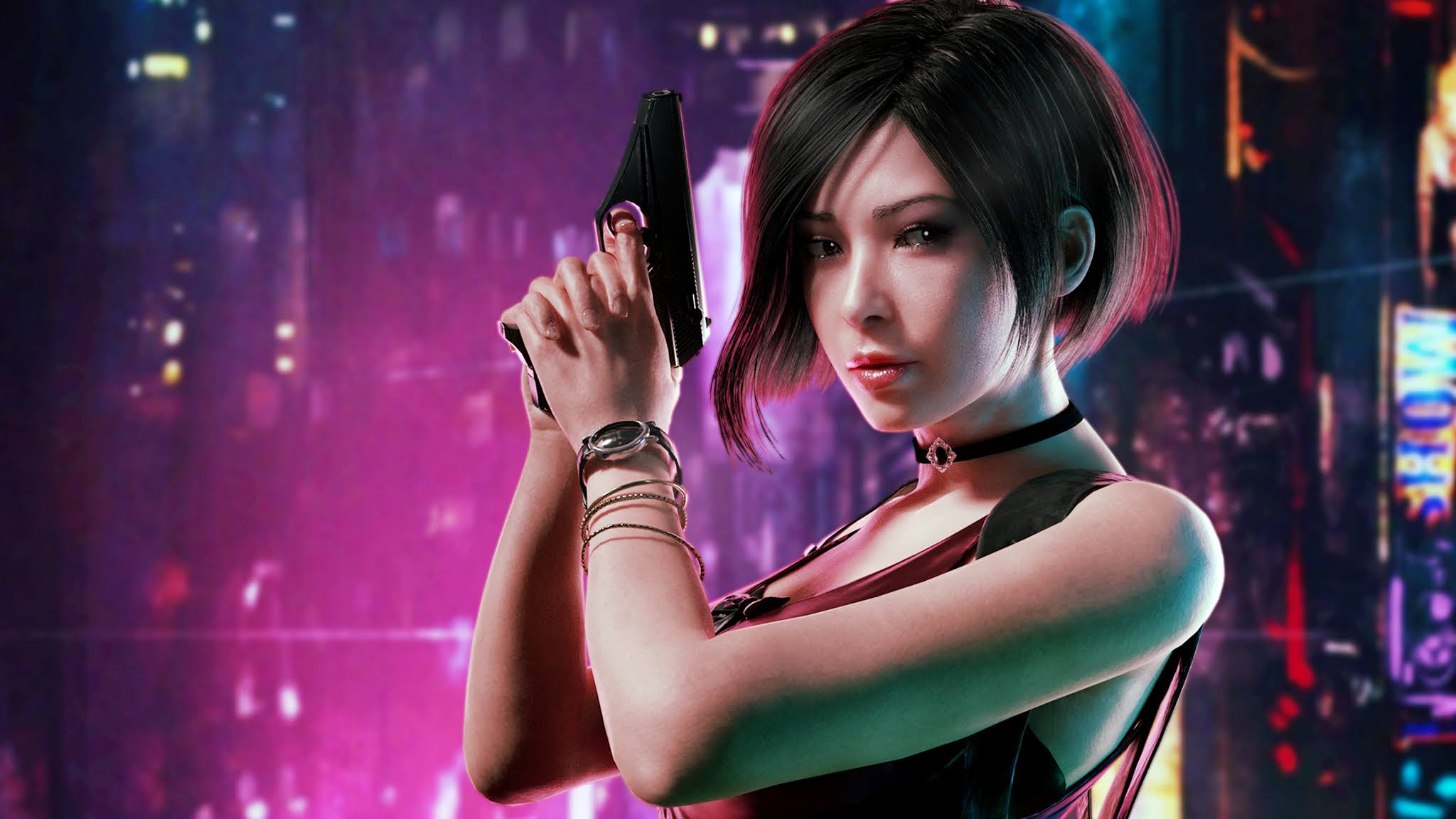 Ada Wong, Resident Evil 2, 4K, #12 Wallpaper