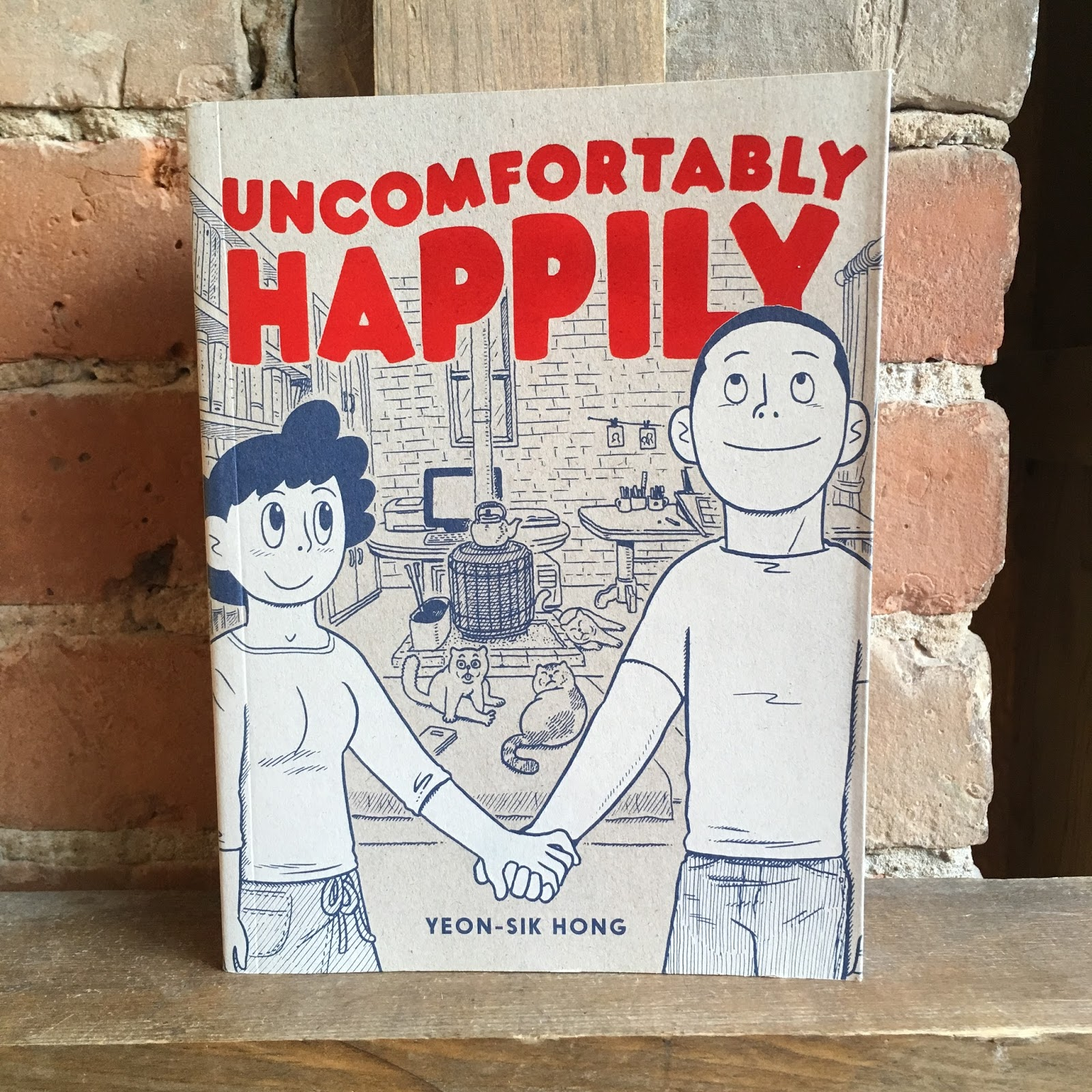 211 Bernard: New D&Q: Uncomfortably Happily by Yeon-Sik Hong!
