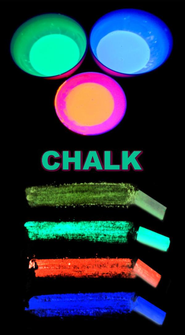 Wow kids of all ages this summer and make sidewalk chalk that glows in the dark! #sidewalkchalk #glowinthedark #glowinthedarkchalk #chalk #homemadechalk #growingajeweledrose #activitiesforkids