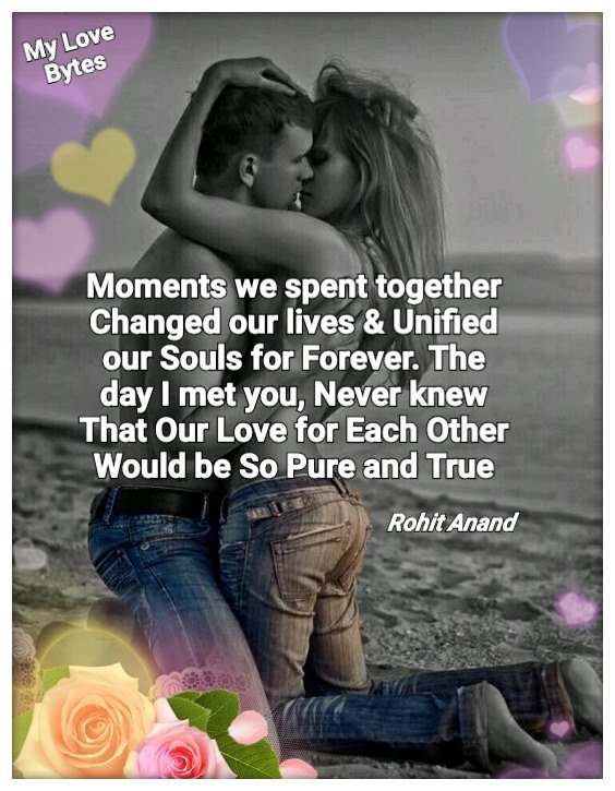 Short Love Poems With Images Romantic Poetry With Pictures By Rohit Anand
