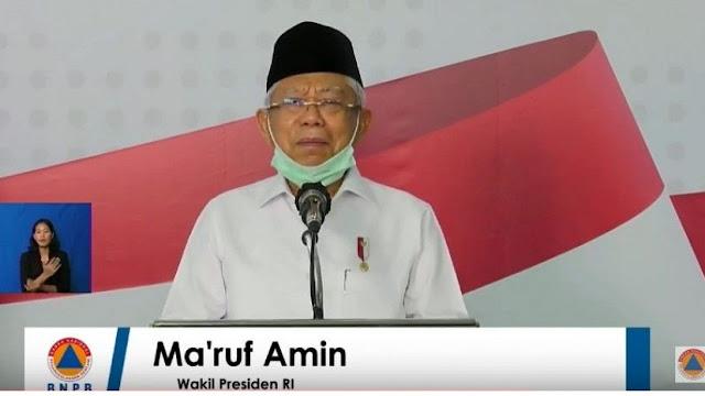 Riset Indef Sebut Ma'ruf Amin Tak Populer, Ibarat Ban Serep