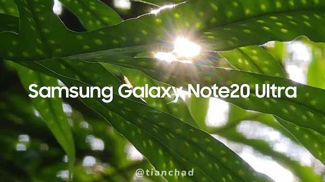 Light flare on Samsung Galaxy Note20 Ultra is very unique. Watch the video at the end of this post to find out #withGalaxy