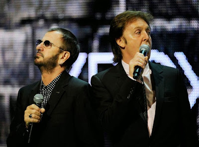Grammy Awards 2014 Ringo Starr & Paul McCartney