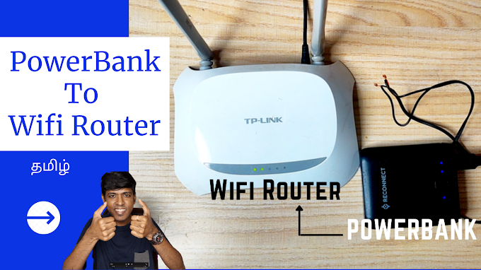 How to Power any Router using Power Bank as UPS | In Tamil | GamerXTC | ...