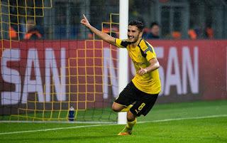 Borussia aplicou 8 a 4 no Legia