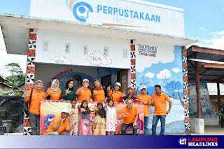 Para Pengelola Lamban Baca di Lampung Barat Diharapkan Dapat Berinovasi Tumbuhkan Minat Baca Masyarakat
