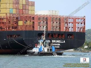 WS Pegasus e MSC Brunella