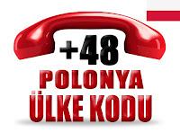 +48 Polonya ülke telefon kodu