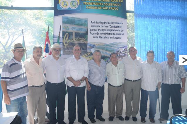 Deputado e representantes do setor de transporte