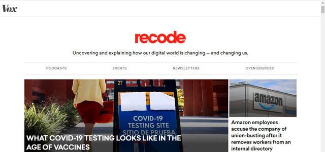 Recode - Blog Teknologi Terpopuler