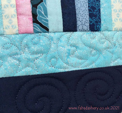Clementina's Owl Quilt - Moon and Stars Border
