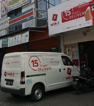 Alamat agen SiCepat ekspres di Depok.