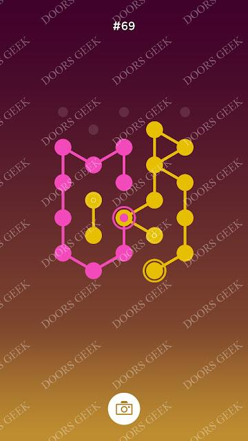 ◉ Connection Level 69 Solution, Cheats, Walkthrough