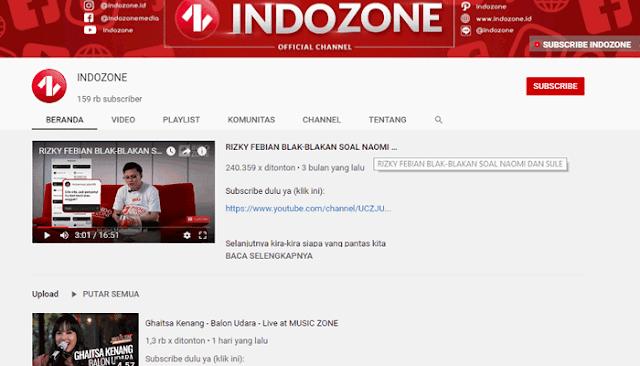 Youtube Indizone