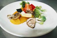 Exotic vegetables for white sauce vegetable pasta recipe