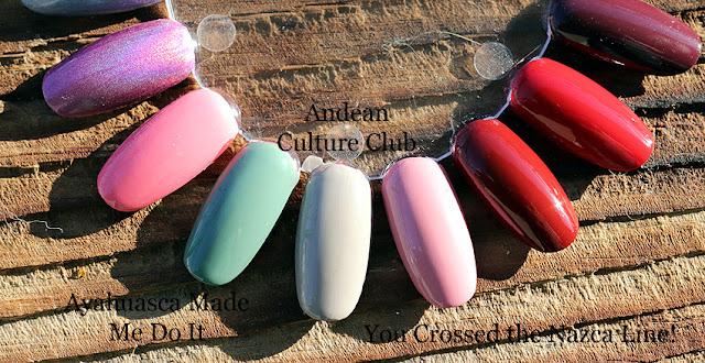 opi peru  limitowane kolory