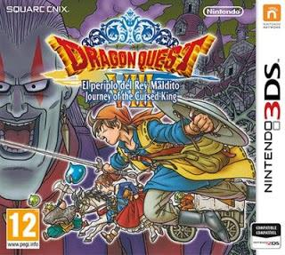 Rom Dragon Quest VIII Journey of the Cursed King 3DS