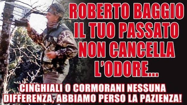 Buongiornolink - Roberto Baggio contro gli animalisti