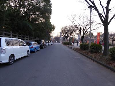 大阪城豊國神社 駐車場?