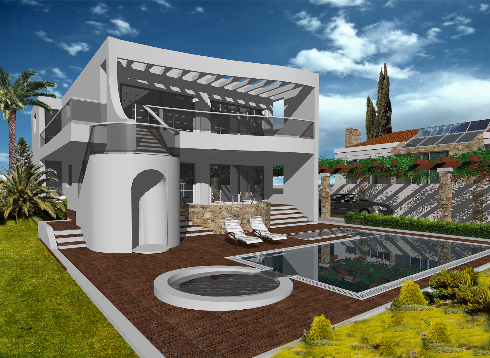 Modern Stylish Latest Homes Exterior Designs Cyprus Home