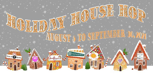 Holiday House Hop with quilt pattern designers