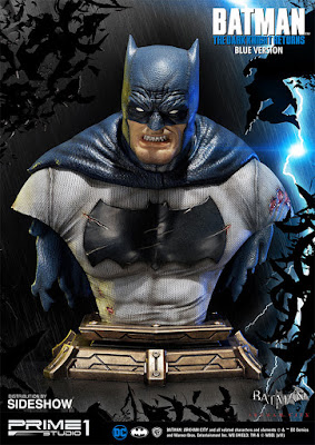 San Diego Comic-Con 2017 Exclusive The Dark Knight Returns Batman Blue Version Bust by Prime 1 Studio x Sideshow Collectibles
